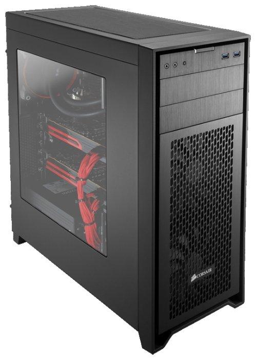 Компьютерный корпус Corsair Obsidian 450D Black