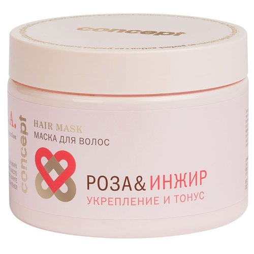 Concept SPA Маска для волос «Роза & Инжир» (укрепление и тонус) для волос и кожи головы, 350 мл маска для волос concept орхидея
