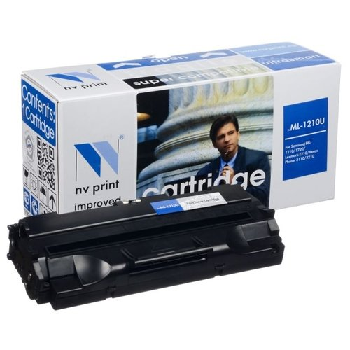 Картридж NV Print ML-1210 U для Samsung, Xerox, Ricoh, Lexmark картридж easyprint ls 2010 u ml 2010 pe220 для samsung ml1610 2010 xerox pe220 черный с чипом 3000стр