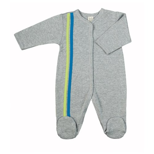Купить Комбинезон lucky child размер 18, серый/голубой, Комбинезоны