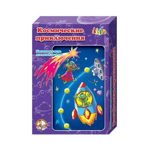 Настольная игра Десятое королевство Космические приключения 00292Настольные игры<br>