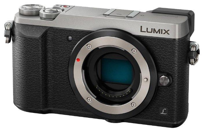 Panasonic Фотоаппарат со сменной оптикой Panasonic Lumix DMC-GX80 Body