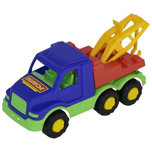 Купить Эвакуатор Полесье Максик (35165) 20 см, Машинки и техника