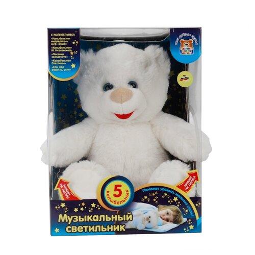 Купить Игрушка-ночник Мульти-Пульти Лунный медвежонок 27 см, Мягкие игрушки