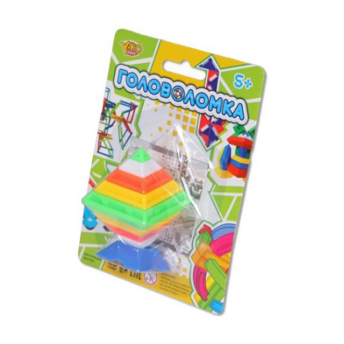 Купить Головоломка Yako M6234 разноцветный, Головоломки