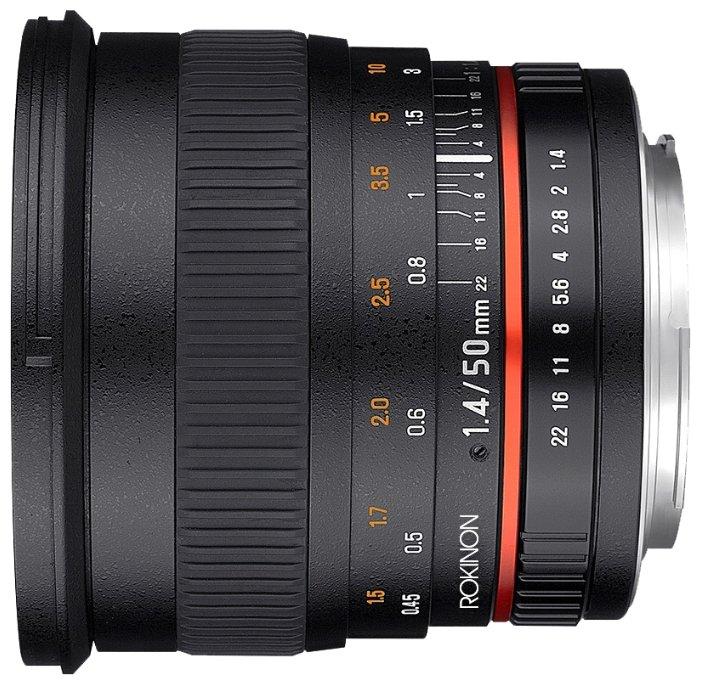Rokinon 50mm f/1.4 AS IF UMC Pentax K (50M-P)