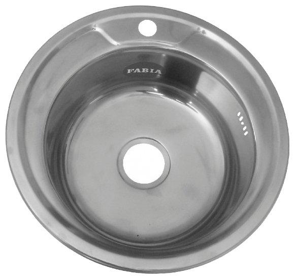 Врезная кухонная мойка Fabia 049 0.6/160