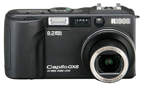 Фотоаппарат Ricoh Caplio GX8