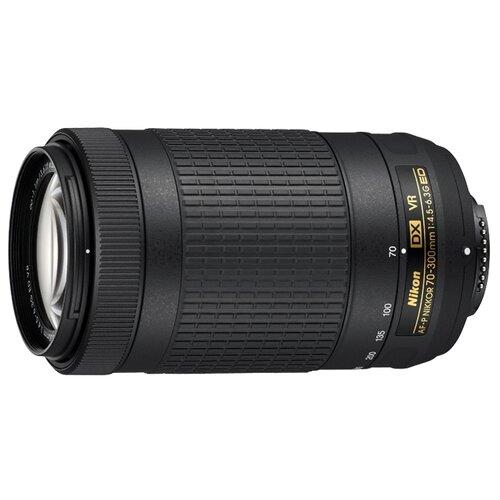 Объектив Nikon 70-300mm f/4.5-6.3G ED VR AF-P DX черный