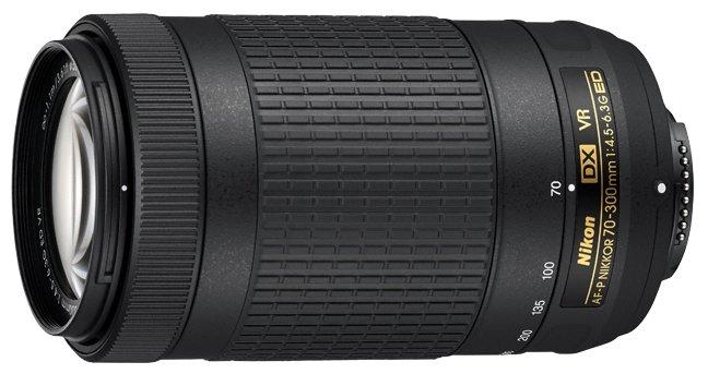 Nikon Объектив Nikon 70-300mm f/4.5-6.3G ED VR AF-P DX