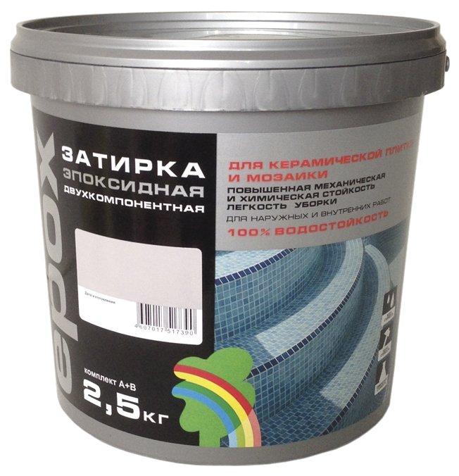 Затирка Радуга Epox ЭП-0025 2.5 кг