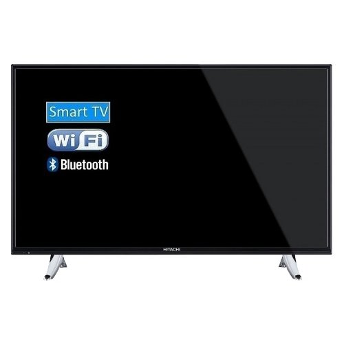 Телевизор Hitachi 40HB6T62 40 (2016) черный телевизор hitachi 24he1000r 24 2019 черный