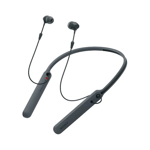 Наушники Sony WI-C400 black bluetooth гарнитура sony wi c400 black