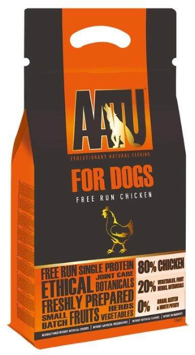 Корм для собак AATU For Dogs Free Run Chicken