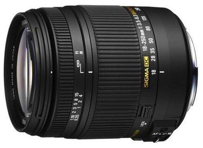Sigma AF 18-250mm f/3.5-6.3 DC OS HSM Macro Canon EF-S
