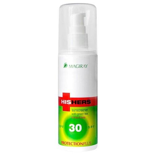 Magiray His Hers солнцезащитная эмульсия для лица и тела SPF 30 125 мл матирующая эмульсия для лица dry touch spf 30 50 мл