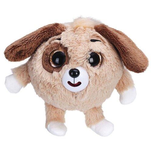 Купить Мягкая игрушка 1 TOY Дразнюка-zooka Собачка коричневая 13 см, Мягкие игрушки