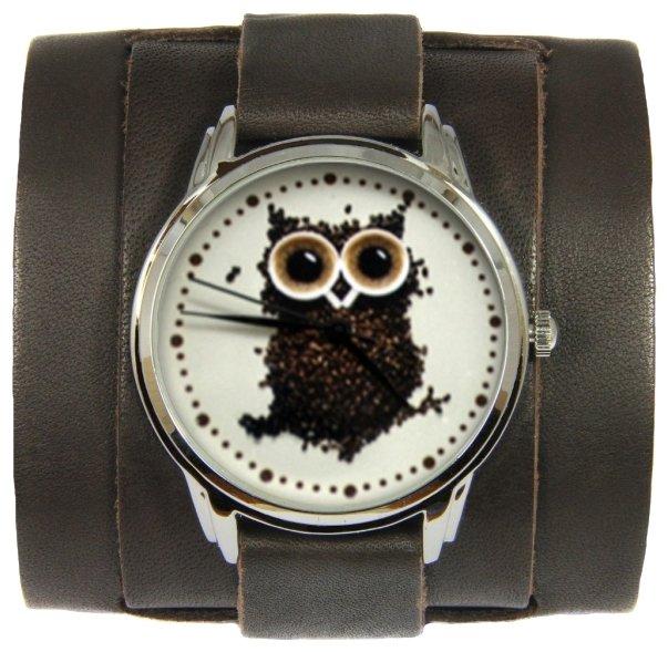 Наручные часы andywatch Сова из кофе