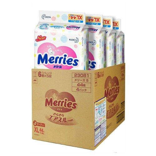 Купить Merries подгузники XL (12-20 кг), 176 шт., Подгузники