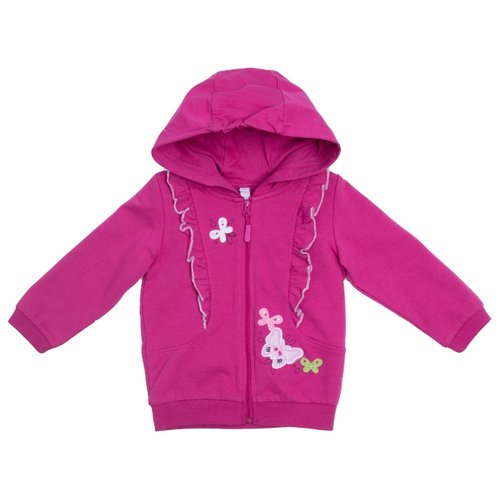 Толстовка playToday размер 98, розовый playtoday толстовка playtoday для мальчика