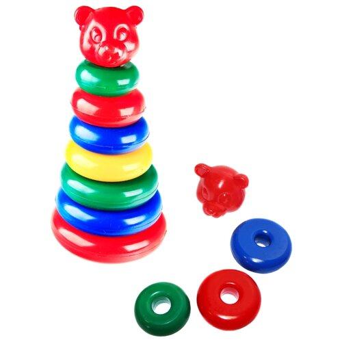Пирамидка Строим вместе счастливое детство большая (мультик)