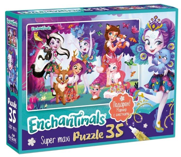 Пазл Origami Enchantimals Любимые герои (03561), 35 дет.