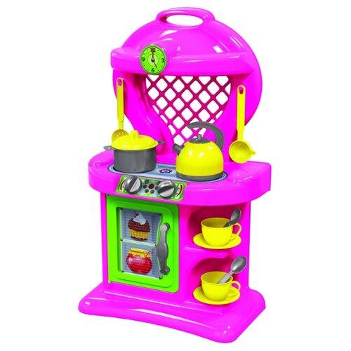 Купить Кухня ТехноК №10 2155 розовый, Детские кухни и бытовая техника