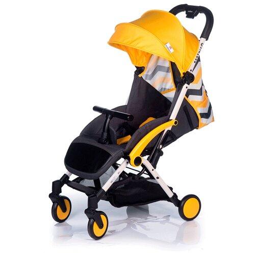 Прогулочная коляска Babyhit Amber Plus желтый/зигзаг электромобиль детский babyhit babyhit электромобиль sport car желтый