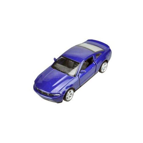 Купить Легковой автомобиль Пламенный мотор Ford Mustang GT 1:43 (870138) 1:43 10 см, Машинки и техника