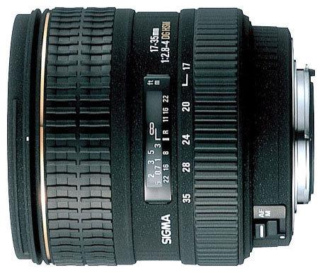 Объектив Sigma AF 17-35mm f/2.8-4 EX DG ASPHERICAL HSM Nikon F