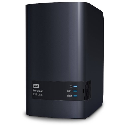 Сетевой накопитель (NAS) Western Digital My Cloud EX2 Ultra 8 TB (WDBSHB0080JCH-EEUE)