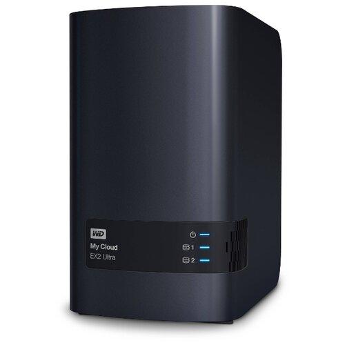 Сетевой накопитель (NAS) Western Digital My Cloud EX2 Ultra 4 TB (WDBSHB0040JCH-EEUE)