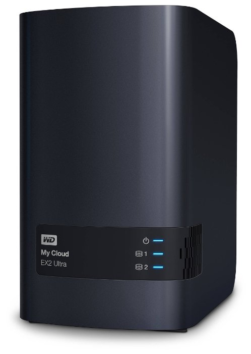 Сетевой накопитель Western Digital WD My Cloud EX2 Ultra 12TB 2-Bay Personal Cloud Storage Server (2 x 8TB) WDBVBZ0120JCH