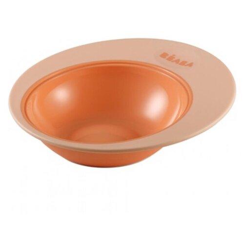 Тарелка Beaba Training plate Ellipse 210 мл nude