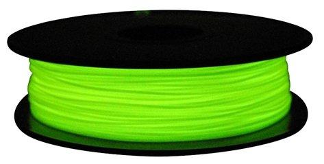 PLA пруток FL-33 1.75 мм зеленый светящийся