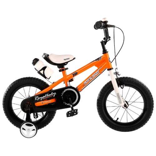 Фото - Детский велосипед Royal Baby RB14B-6 Freestyle 14 Steel оранжевый (требует финальной сборки) детский велосипед tong yue 2 3 6 8 12 14 16 18