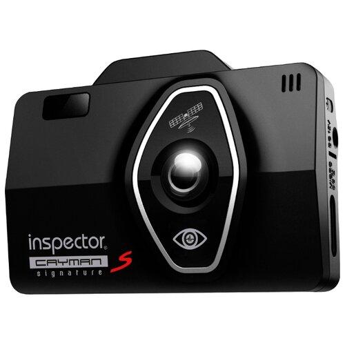 Видеорегистратор с радар-детектором Inspector Cayman S, GPS черный радар детектор inspector rd tau s черный [rd tau s signature gps]