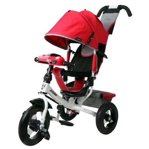 Трехколесный велосипед Moby Kids Comfort 12x10 AIR Car 2 красный трехколесный велосипед pilot pta3 2019 красный
