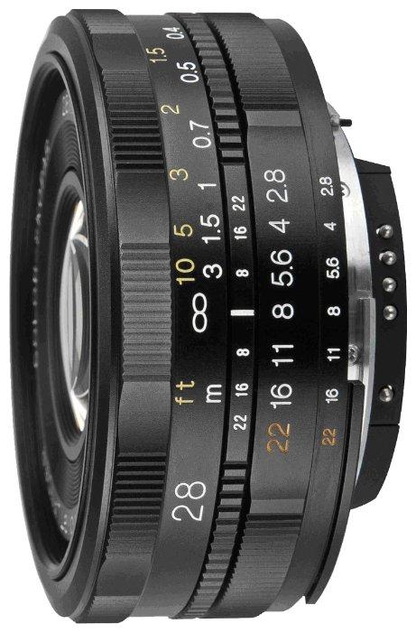 Объектив Voigtlaender 28mm f/2.8 SLII Color Skopar Nikon F