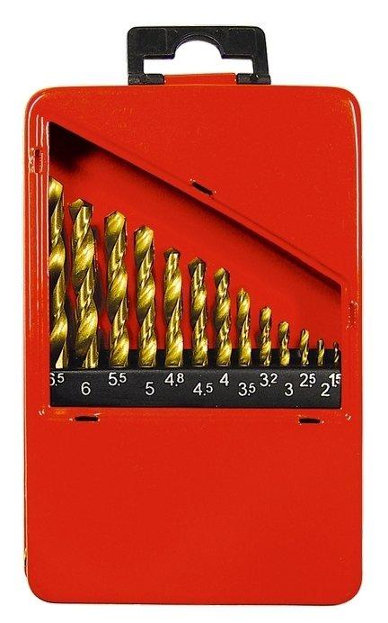 Набор сверл matrix 72386 P4M4X2