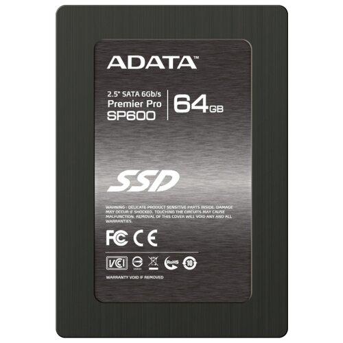 Купить Твердотельный накопитель ADATA Premier Pro SP600 64GB