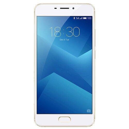 Смартфон Meizu M5 Note 16GB золотойМобильные телефоны<br>