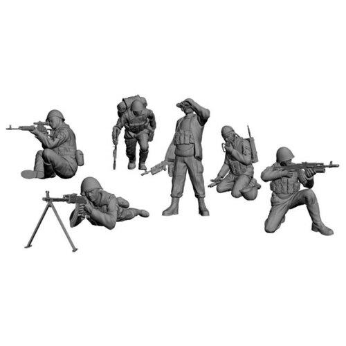 Купить Сборная модель ZVEZDA Советские десантники. Афганистан (3619) 1:35, Сборные модели