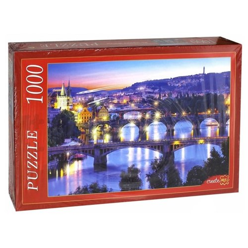 Фото - Пазл Рыжий кот Вечерние мосты (КБ1000-6887), 1000 дет. пазл рыжий кот konigspuzzle россия йошкар ола гик1000 6534 1000 дет