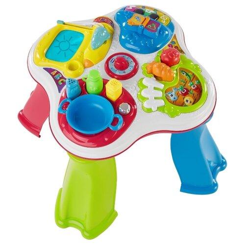цена на Интерактивная развивающая игрушка Chicco Говорящий столик белый