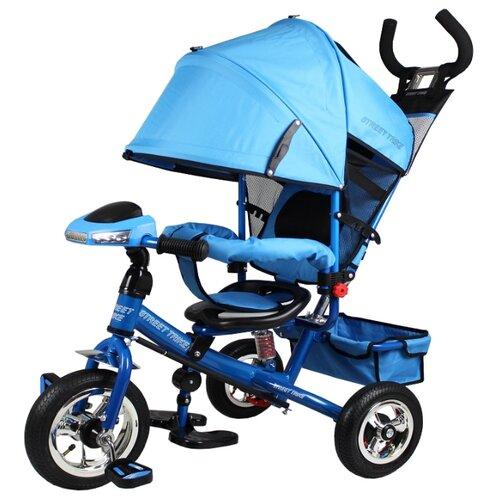 Купить Трехколесный велосипед Street trike A-03-E, бирюзовый, Трехколесные велосипеды