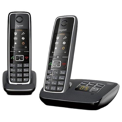 Радиотелефон Gigaset C530A Duo черныйРадиотелефоны<br>