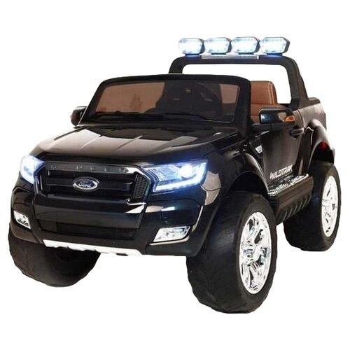 Купить RiverToys Автомобиль New Ford Ranger 4WD, лицензионная модель, черный глянец, Электромобили