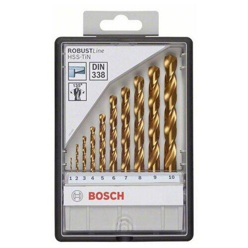 Набор сверл BOSCH Robust Line 2.607.010.536 набор сверл bosch robust line multi construction 2 607 010 521 4 шт