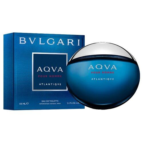 Туалетная вода BVLGARI Aqva pour Homme Atlantiqve, 100 мл bvlgari pour homme